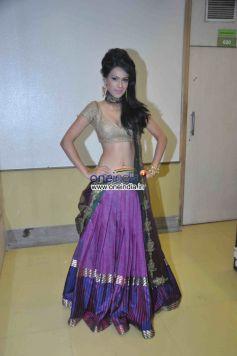Nia Sharma Posing at Welingkar Event