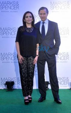 Nita Ambani at Opening of Marks & Spencer store Event