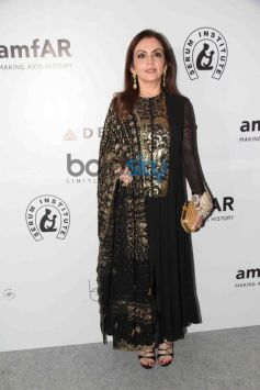 Nita Ambani at the amfAR