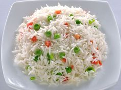 Peas Pulao With Butter Recipe