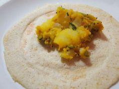 Potato Paliya Recipe For Masala Dosa