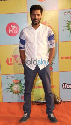 Prabhu Deva Nickelodeon Kids choice Awards at Filmcity