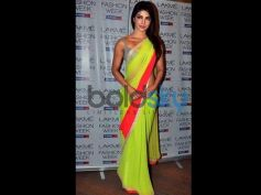Priyanka Chopra In Designers Saree