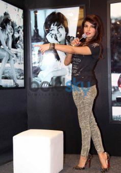 Priyanka Chopra talking  to media New Collection of GUESS
