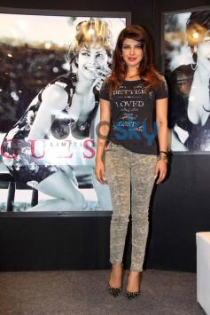 Priyanka Chopra during New Collection of GUESS