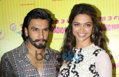 Promotion of film Ram Leela at Radio City Event