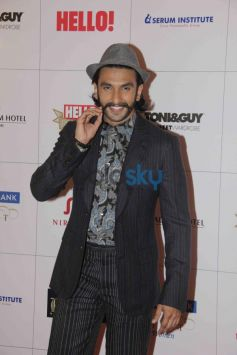 Ranvir Singh at Hello Awards 2013