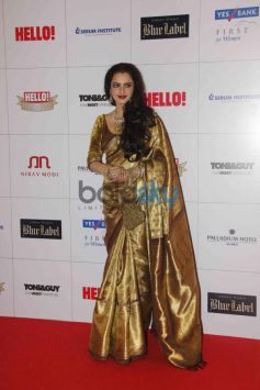 Rekha at Hello Awards 2013