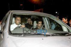 Sehwag and Goutam Gambhir at Sachin Tendulkar  farewell party 2013