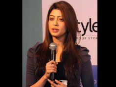 Sandalwood Actress Pranitha Subhash Speaking to media at Event