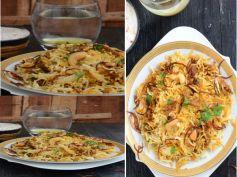 Shahi Mushroom Biryani Recipe