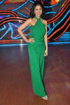 Shilpa Shetty on the Nach Baliye stage