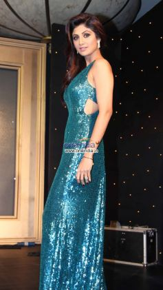Shilpa Shetty on Star Plus Nach Baliye Stage