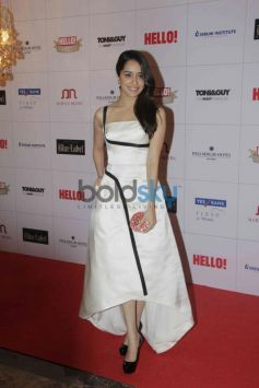 Shraddha Kapoor at Hello Awards 2013