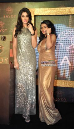 Silky Kothari Mehta with Nargis Fakhri launches luxury watch Savoy