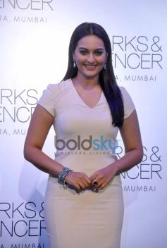 Sonakshi Sinha Marks & Spencer store at Event