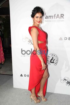 Sonal Chauhan at the amfAR