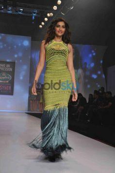 Sonam Kapoor walks ramp at Signature fashion show