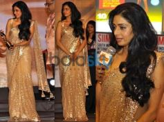Sridevi In Designers Bright Saree Collection