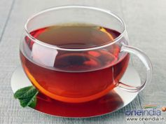 Treat Food Poisoning with Home Remedie Black Tea