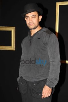 Aamir Khan at Deepika Padukone Black and Gold Party