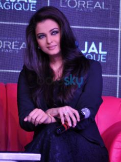 Aishwarya Rai during launch Kajal Magique
