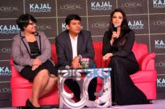 Aishwarya Rai and guest during launch Kajal Magique
