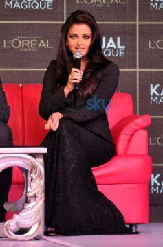 Aishwarya Rai launches Kajal Magique