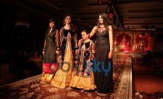 Alia Bhatt with Designer on ramp at KHWAB 2013