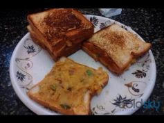 Aloo Bread Toast Breakfast Recipe