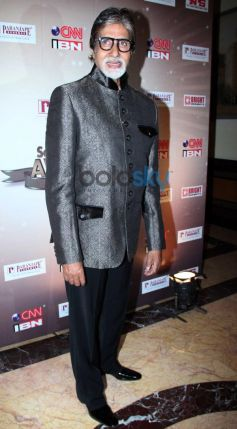 Amitabh Bachchan at CNN-IBN's Senior Citizen Awards
