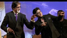 Amitabh Bachchan and Shahrukh Khan dance moves during NDTV's 25 years celebrations