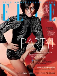 Archana Akhil Kumar on the cover of Elle Dec 2013