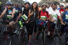 Ariana Ayam during the Godrej Eon Tour de India 2013