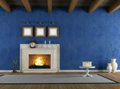 Blue For Living Room