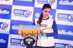 Bollywood actors Soha Ali Khan at the Gillette SIM