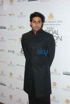 Abhishek Bachchan During IBFW 2013 day 6