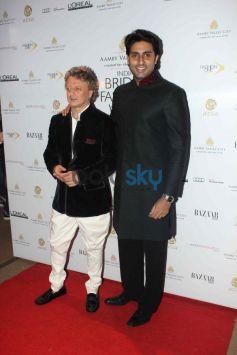 Abhishek Bachchan During IBFW 2013 day 6