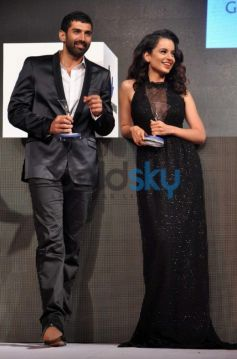 Aditya Roy Kapoor and Kangana Ranaut at Grey Goose Style Du Jour