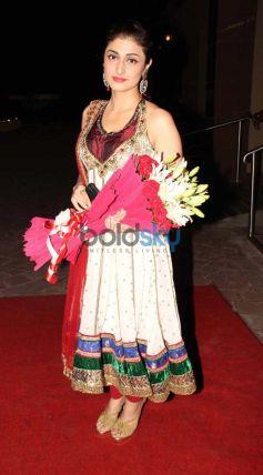 Ragini Khanna at Aamna Sharif Amit Kapoor Wedding Reception