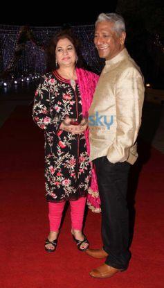 Celebs at Aamna Sharif Amit Kapoor Wedding Reception
