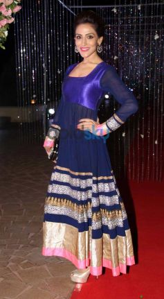 Celebs during Aamna Sharif Amit Kapoor Wedding Reception