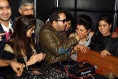 DJ show at Press conference of MTV BOLLYLAND at Welcom Hotel Dwarka