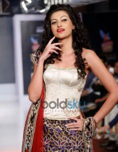 Hamsa Nandini ramp at Hyderabad International Fashion Week