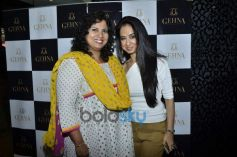 Hema Sardesai with Kiran Datwani during Gehna Jewellers 2014 Event