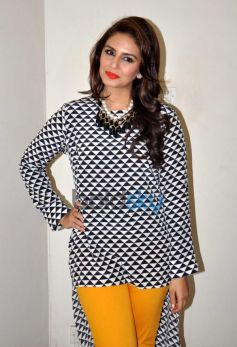 Huma Qureshi At Dedh Ishqiya Promotion