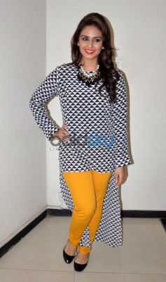 Huma Qureshi during Dedh Ishqiya Promotion