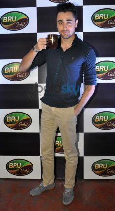Imran Khan at Bru Gold Coffee Bean contest