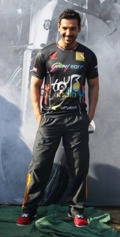 John Abraham during Godrej Eon Tour de India 2013