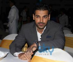 John Abraham during SCMM 2014 Press Conference